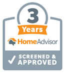 3 year home advisor approved company